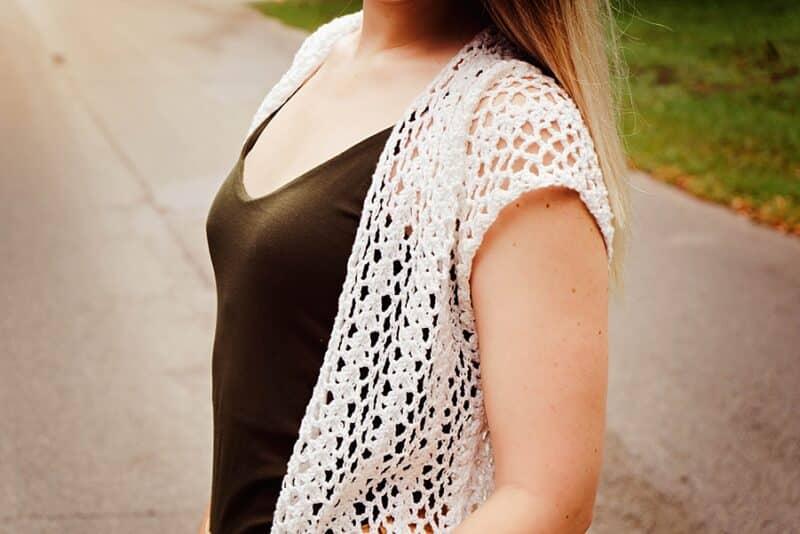 Long Summer Crochet Duster Pattern