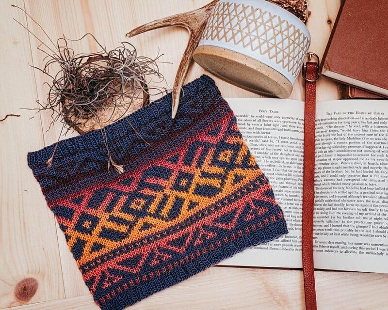 Boho Knit Cowl Pattern